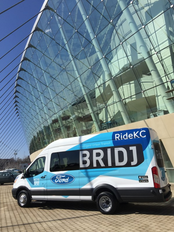 Bridj vehicle